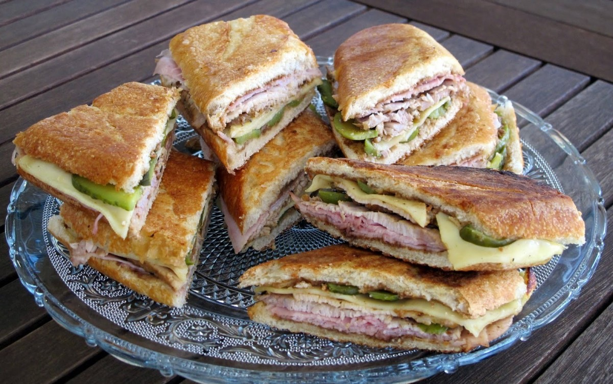 The Cubano is quite possibly the ultimate ham and cheese sandwich.