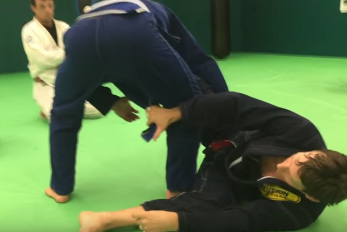 How to Set Up Worm Guard (a BJJ Tutorial)