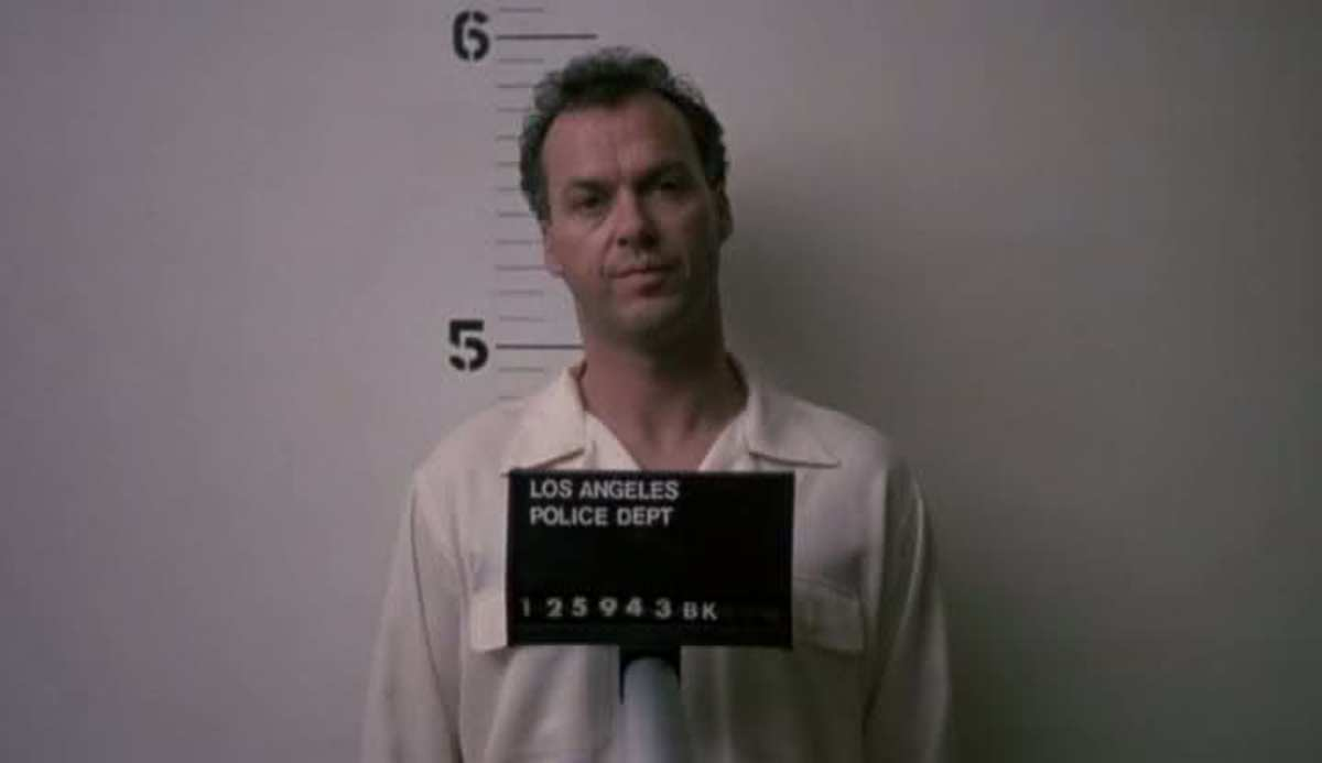 Michael Keaton Gets Nuts :