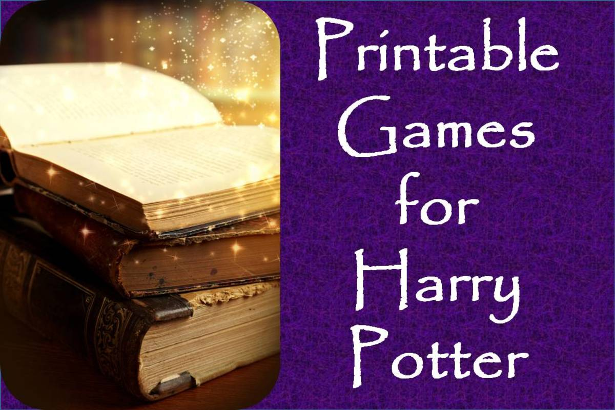 Games to Play at Your Harry Potter Party: Printables for Easy and Entertaining Things To Do With a Group