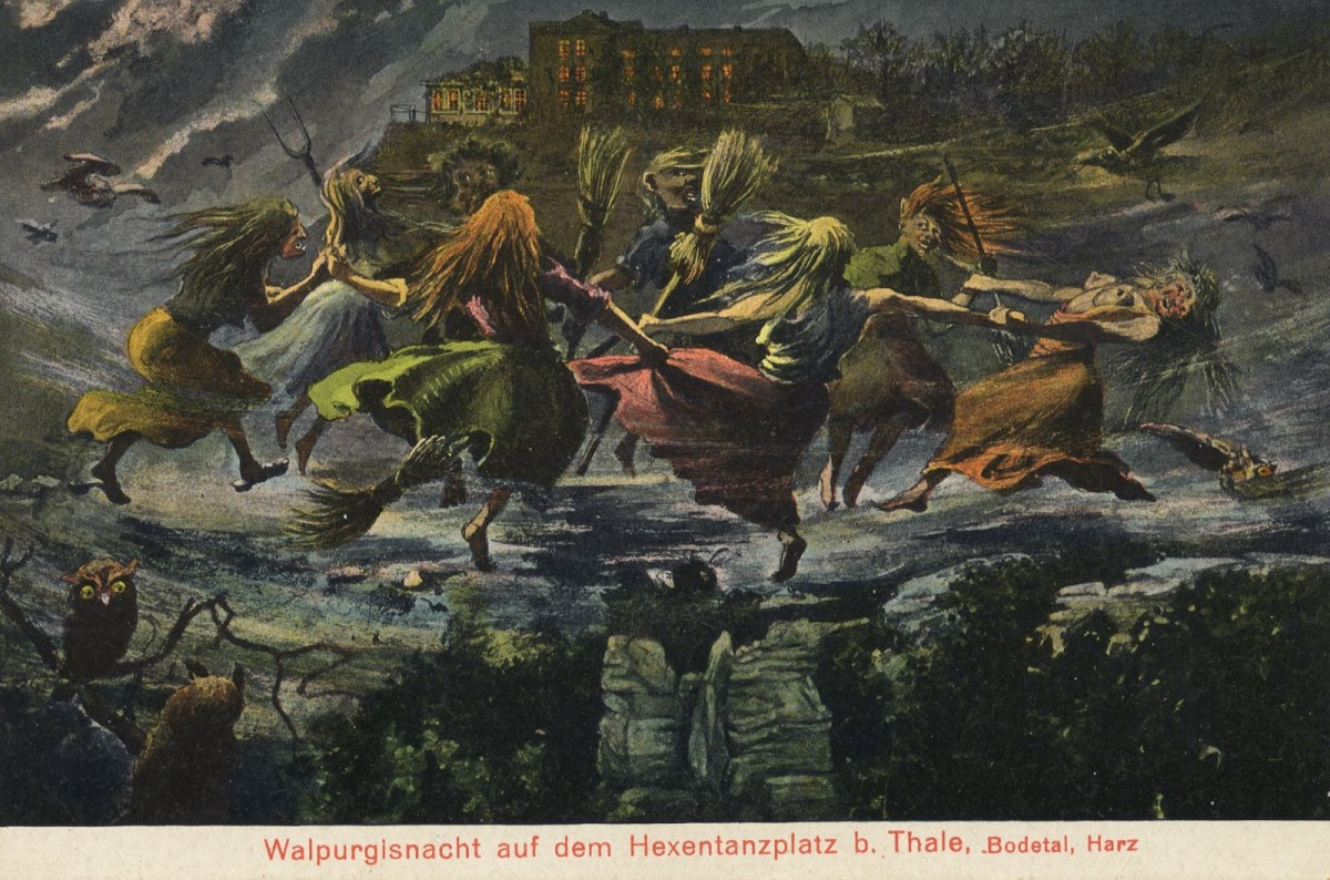 Witches at Walpurgisnacht (Walpurgis Night)