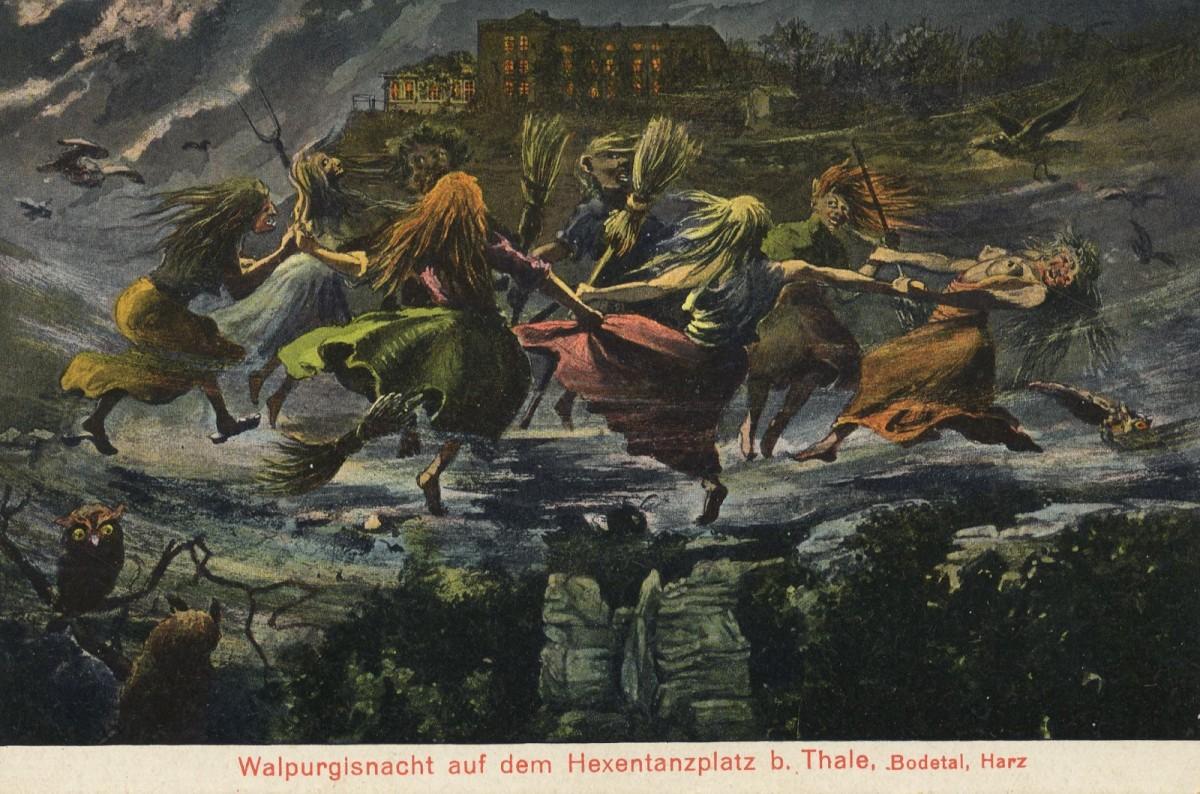 Witches at Walpurgisnacht (Walpurgis Night)