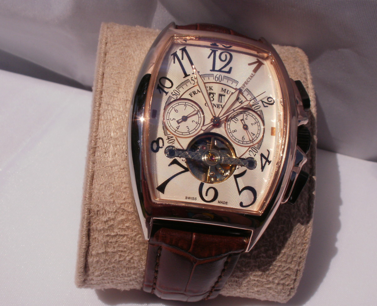 Anatomy of a Replica Franck Muller Casablanca Automatic Watch