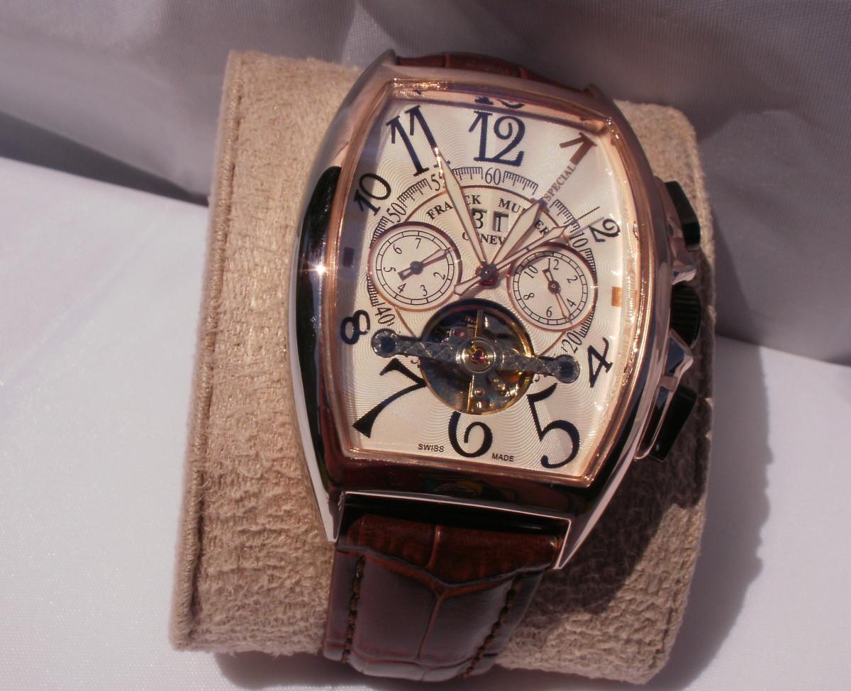 The replica watch.