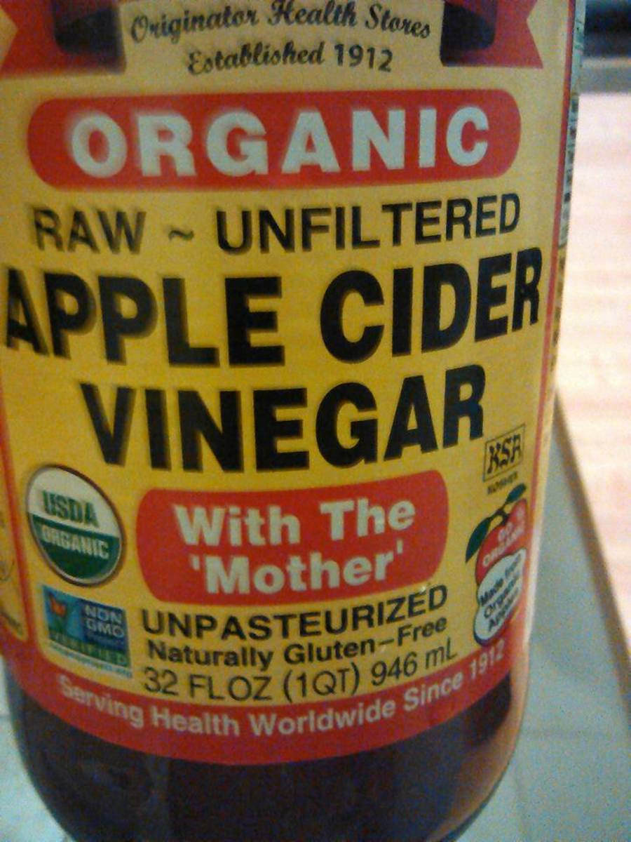 The best apple cider vinegar to use.
