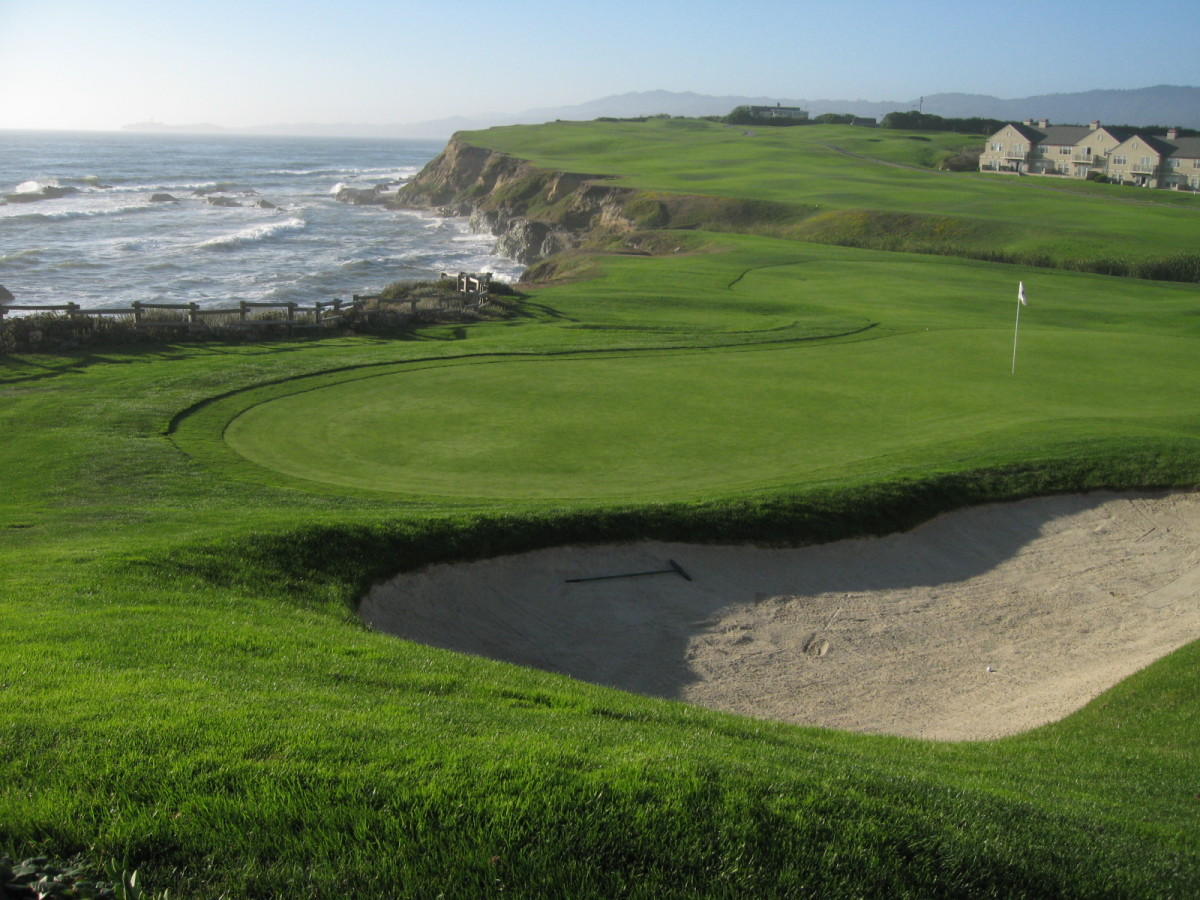 What a course in Half Moon Bay