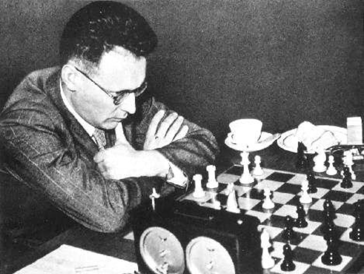 """Mikhail Botvinnik, Russian World Champion, nicknamed """"Iron Man"""", was perhaps the most disciplined player of chess."""