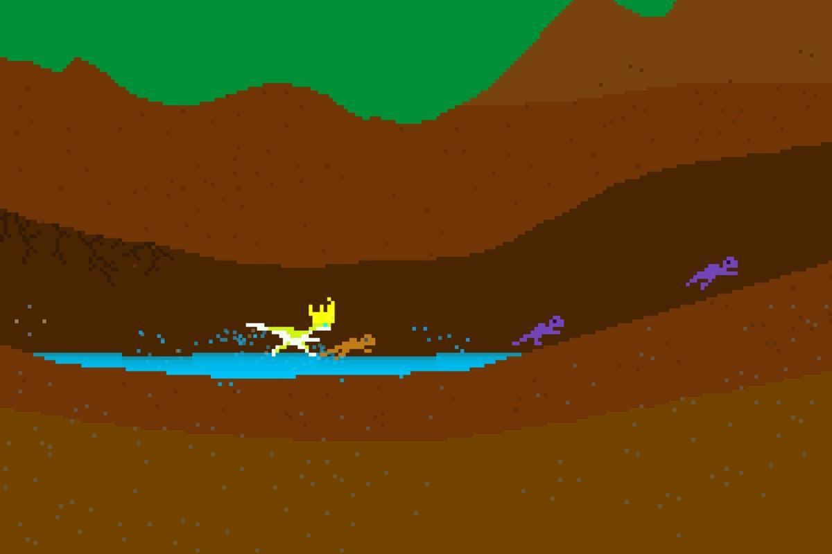 Run little critters. Run!