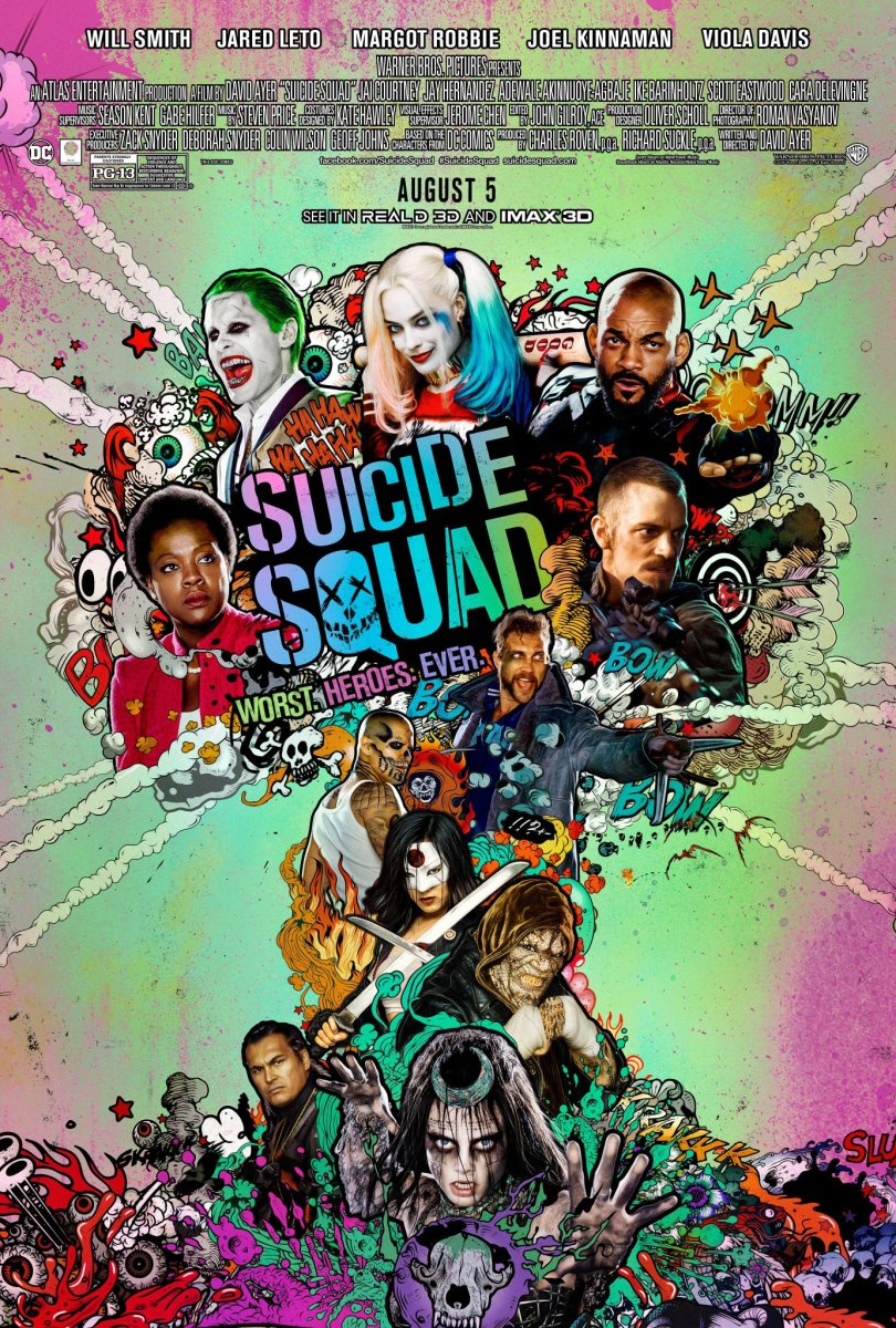 Suicide Squad: Movie Review