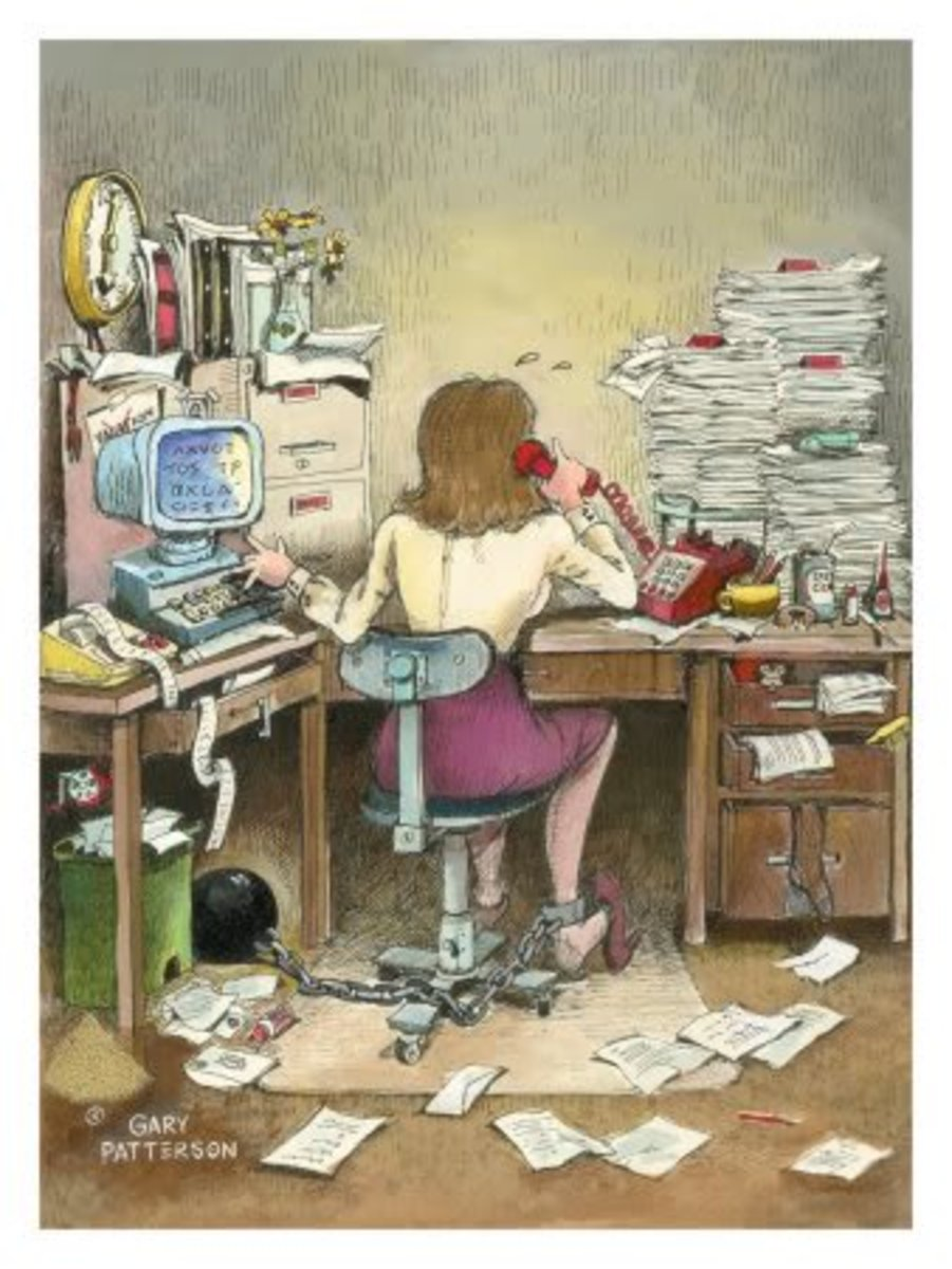 Feeling chained to your work? You are not alone.