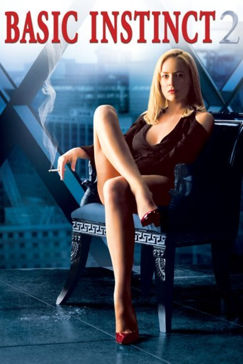 Poster for Basic Instinct 2. Property of Sony and Columbia Pictures.