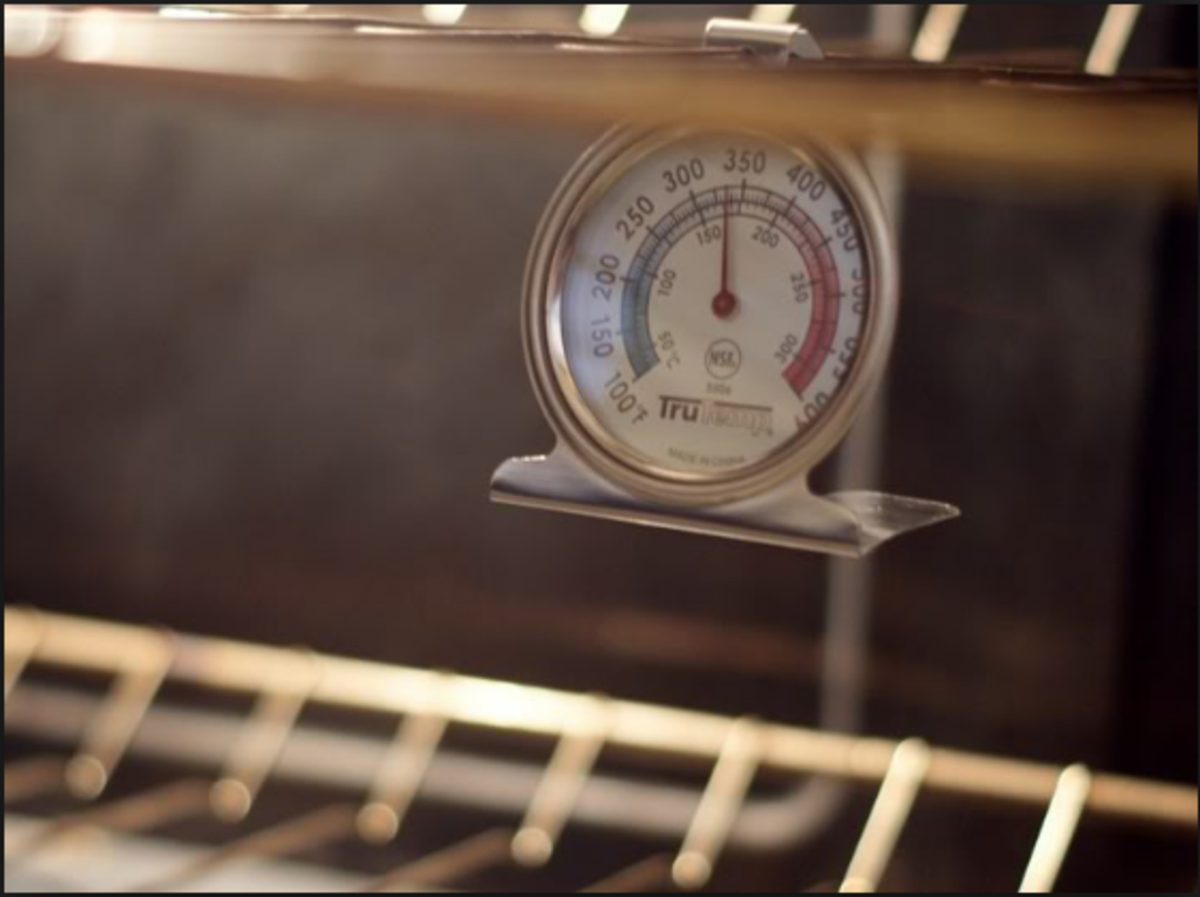 If you're impatient, buy an oven-safe thermometer to ensure the perfect temperature.