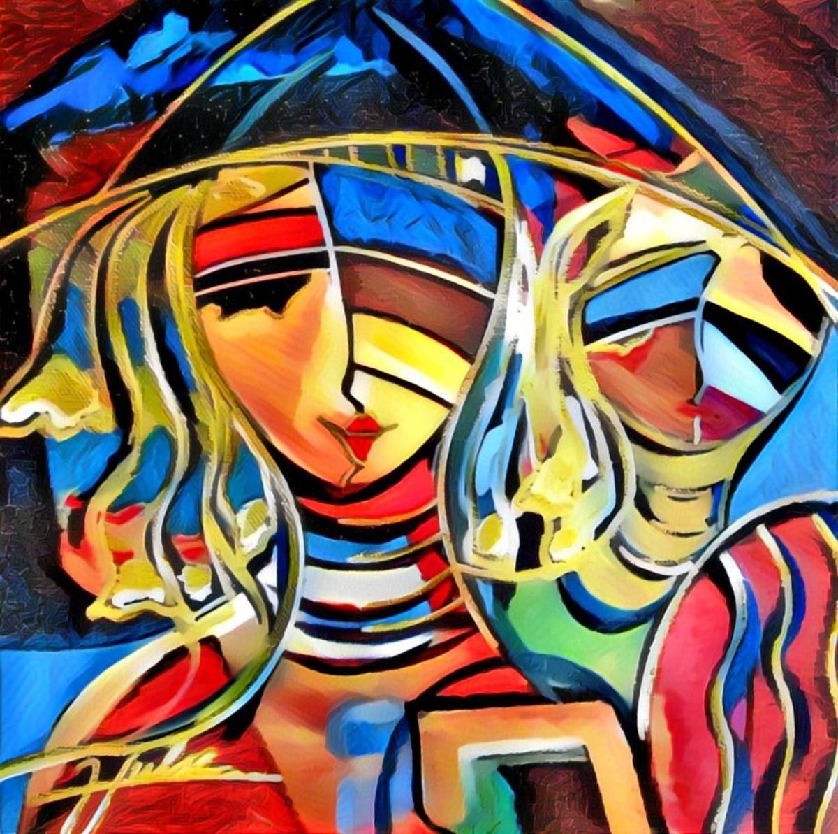 A New Beginning Original Art by Gina Welds Hulse