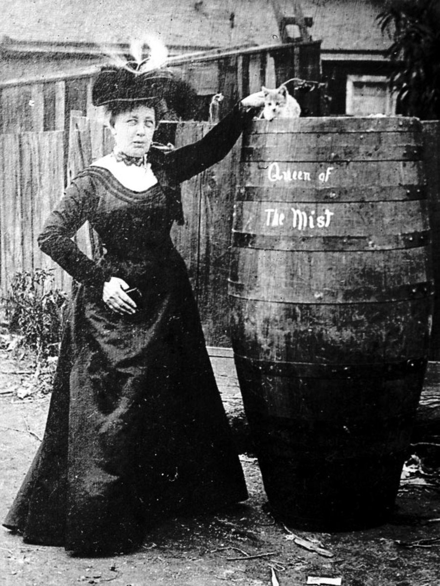 Annie With Barrel