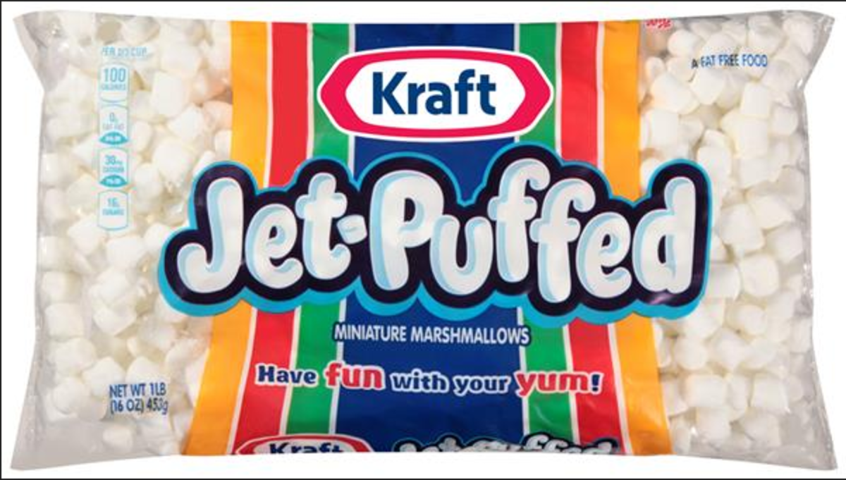 Kraft's Jet Puffed mini marshmallows are the best to use in my area. Find the best brand in your area and use them.