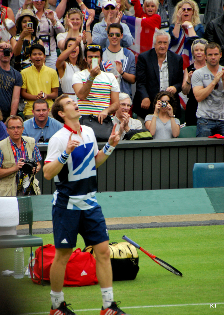 Andy Murray Wins Olympic Gold in 2012