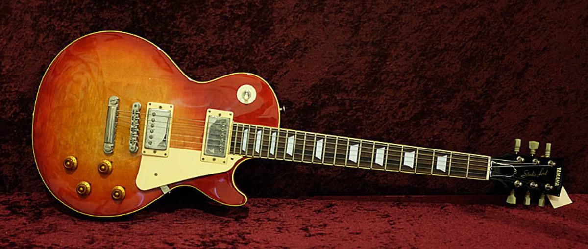 A Yamaha Studio Lord guitar