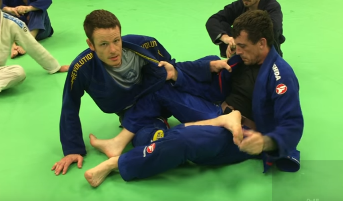 3 Advanced Options from 50/50 Position in BJJ