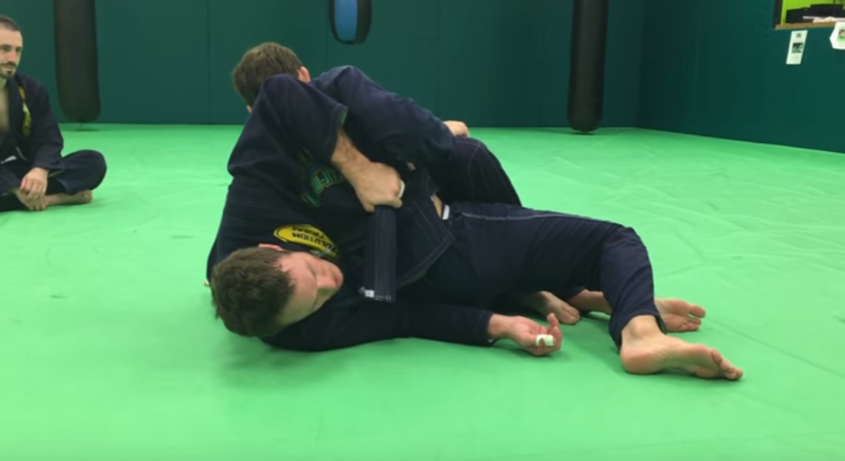 Countering the Twister Pass for BJJ