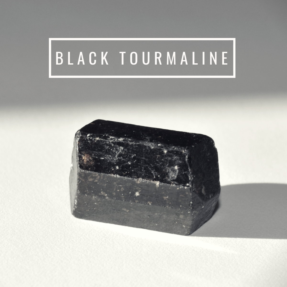 Black tourmaline is great at dispelling electromagnetic radiation.