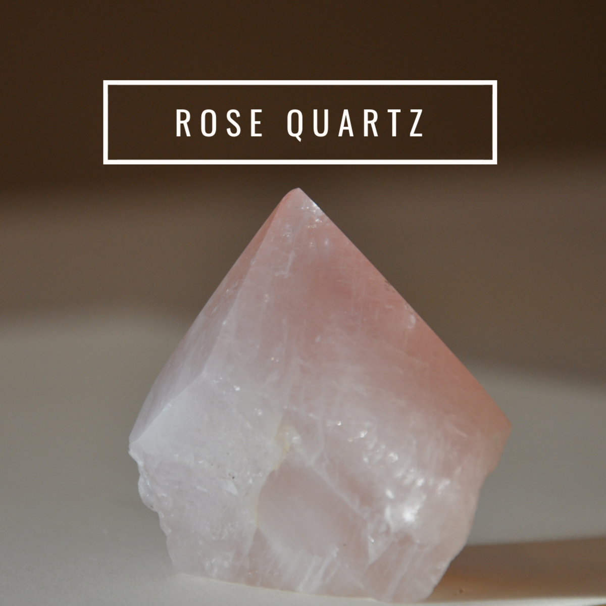 Rose quartz is known by many as the stone of unconditional love.