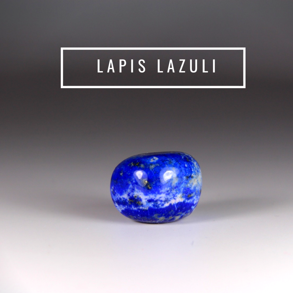 Lapis lazuli helps to dissolve emotional baggage and stress.