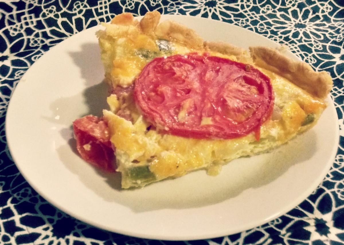 Tomato Pie Floridian Quiche