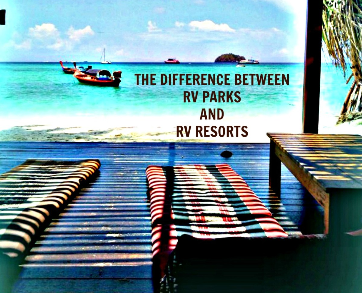 What Is the Difference Between RV Parks and RV Resorts?