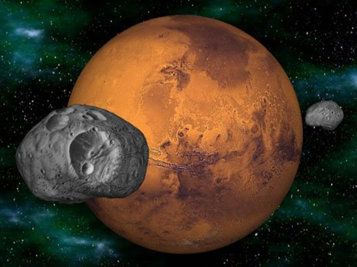 Explore the Moons of Mars (Deimos and Phobos)