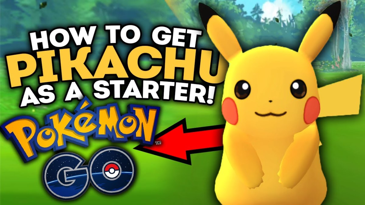 How to get Pikachu as a Starter Pokemon in the Pokemon Go Mobile App