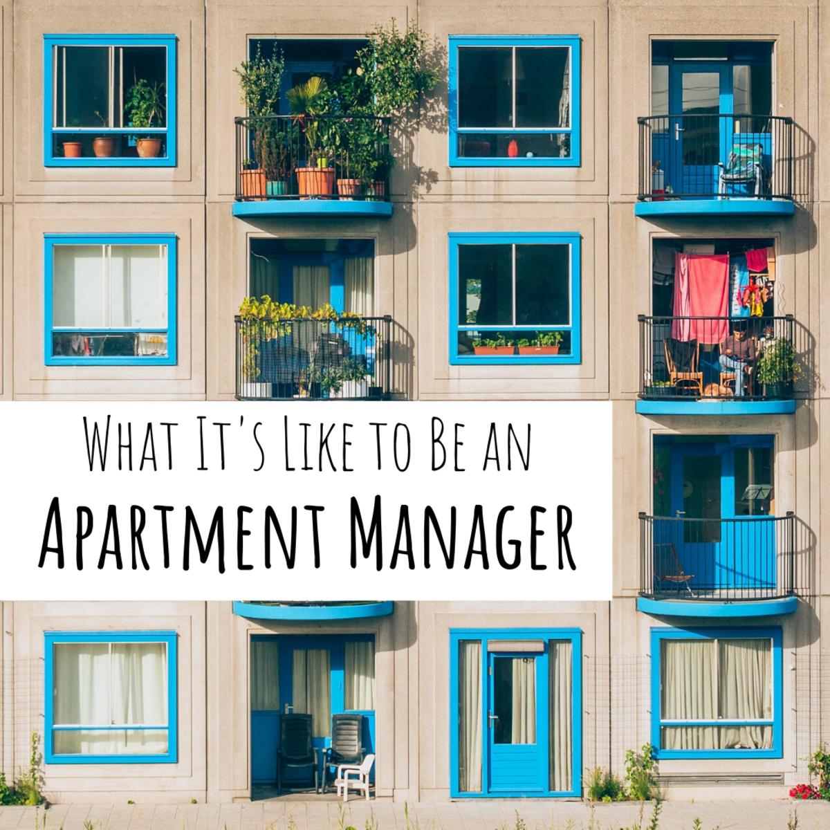 了解一些公寓或物业经理的日常工作,以及这份工作的优缺点。