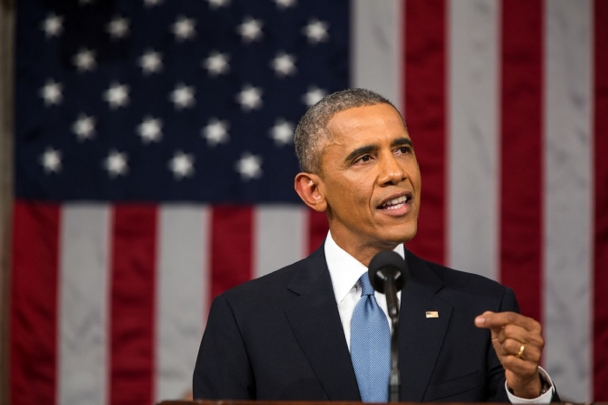President Obama exemplifies being assertive. Notice the confident body language.