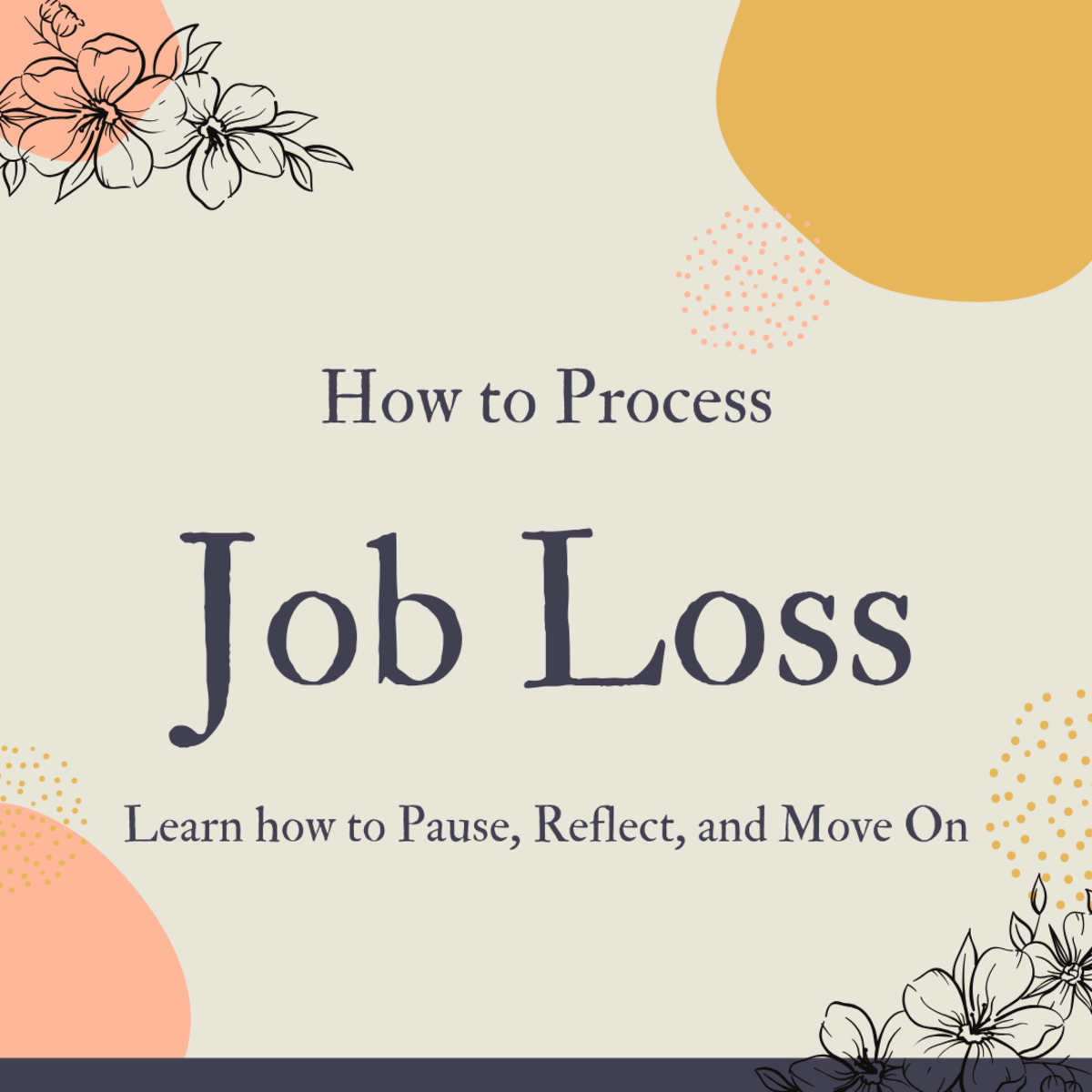The First Thing to Do When You Lose a Job