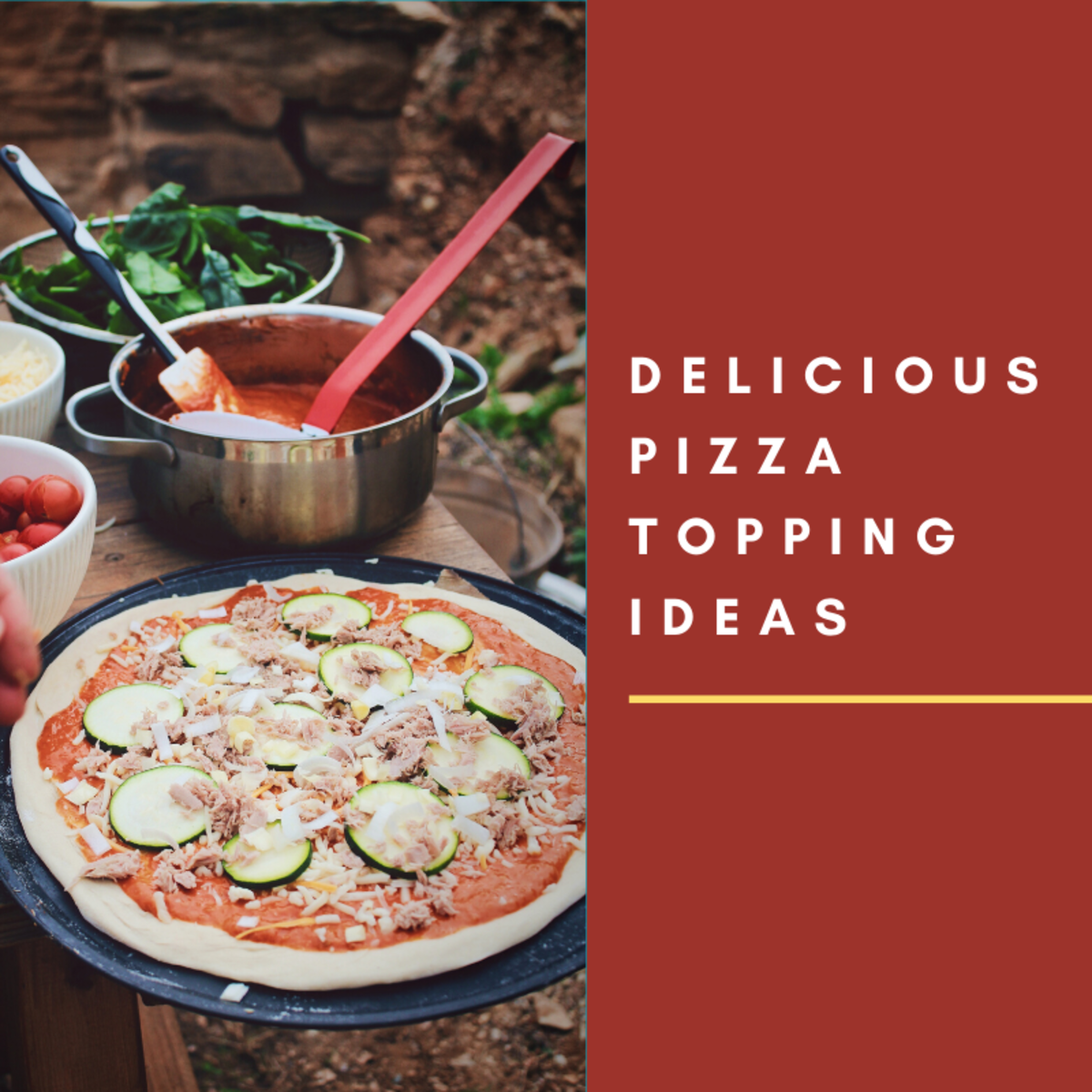 These great pizza toppings will help you make more interesting pies.