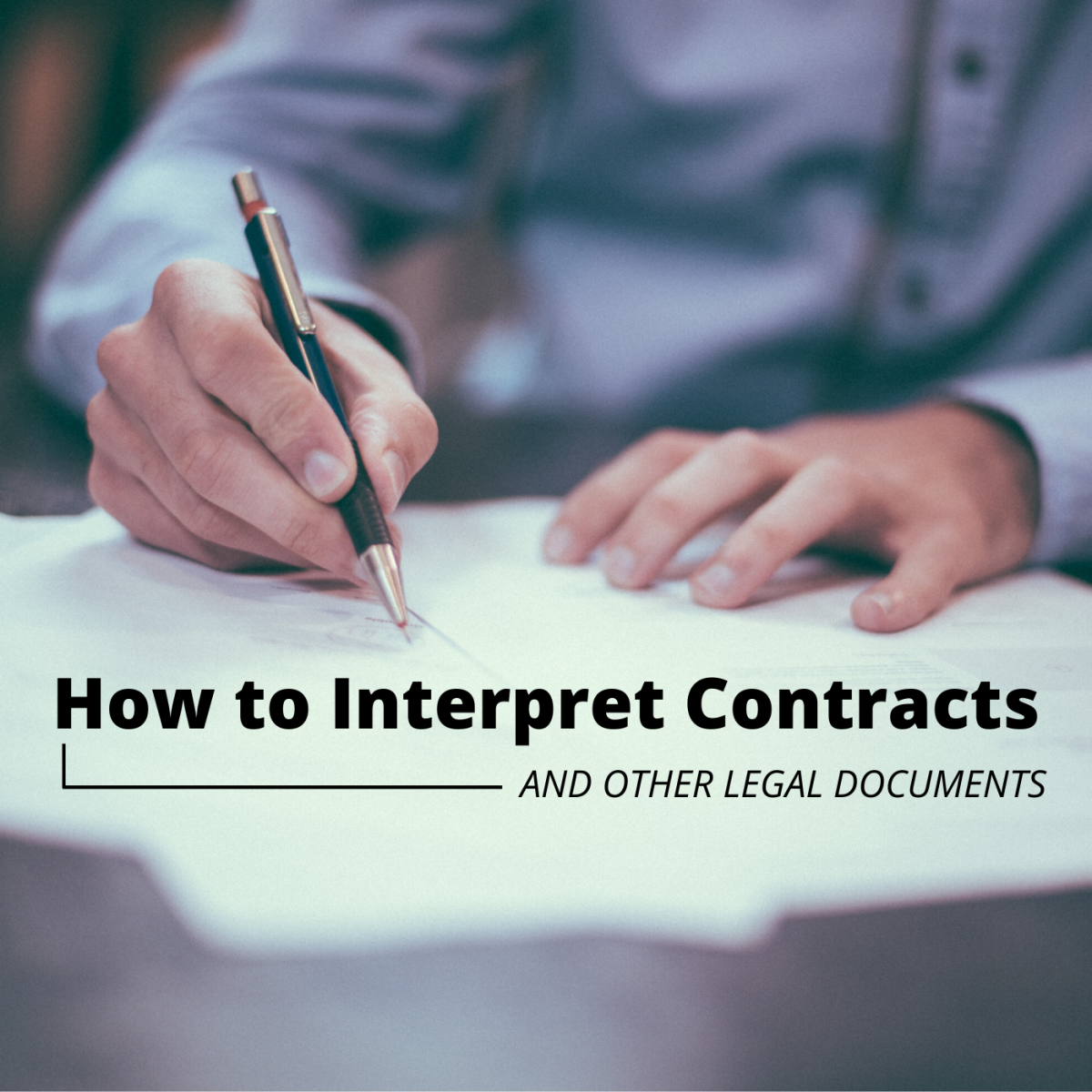Before signing a legal document, it's important to understand its implications and negotiate for any changes you deem necessary.