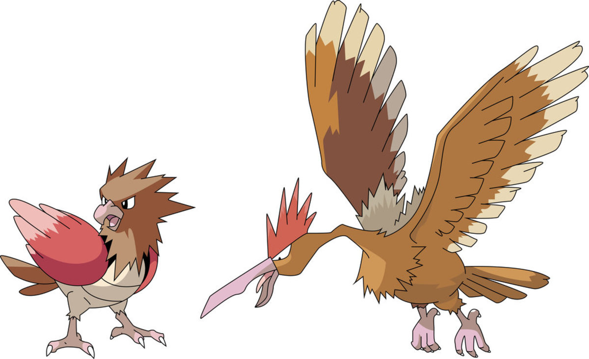 Pokemon Review: Fearow and Sandslash
