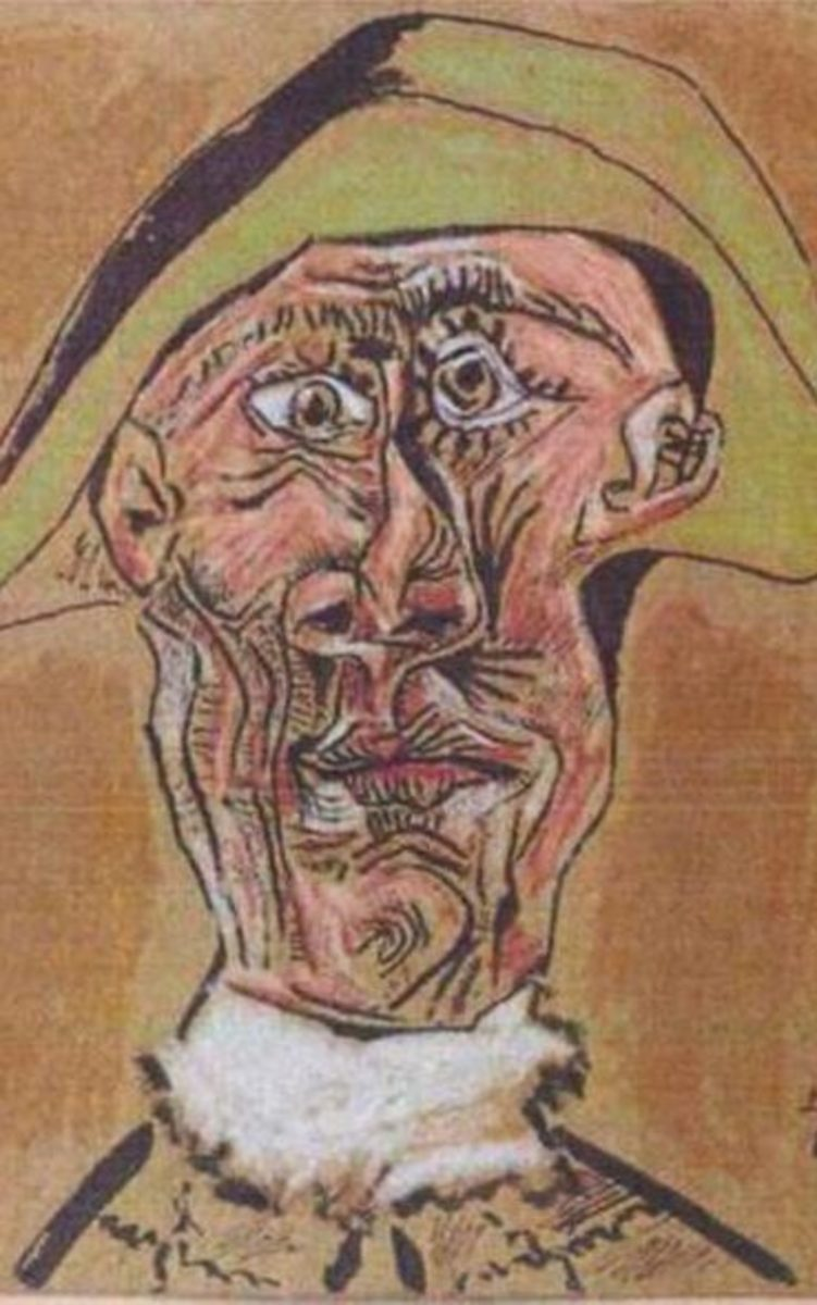 Picasso's Harlequin Head