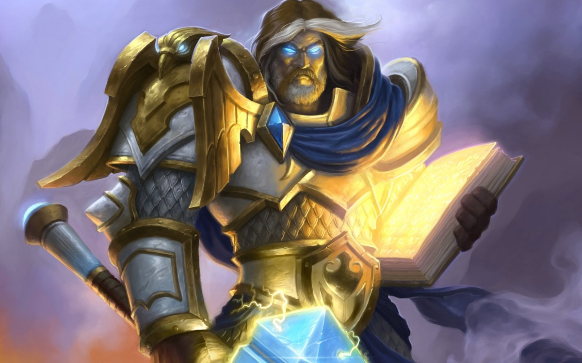 "Uther the Lightbringer is a notable human hero in ""World of Warcraft."""