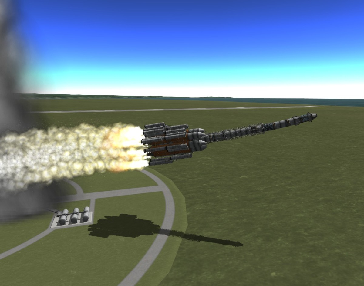 """Kerbal Space Program"" is a hard game, and things often go a little bit sideways . . . like in this screenshot."