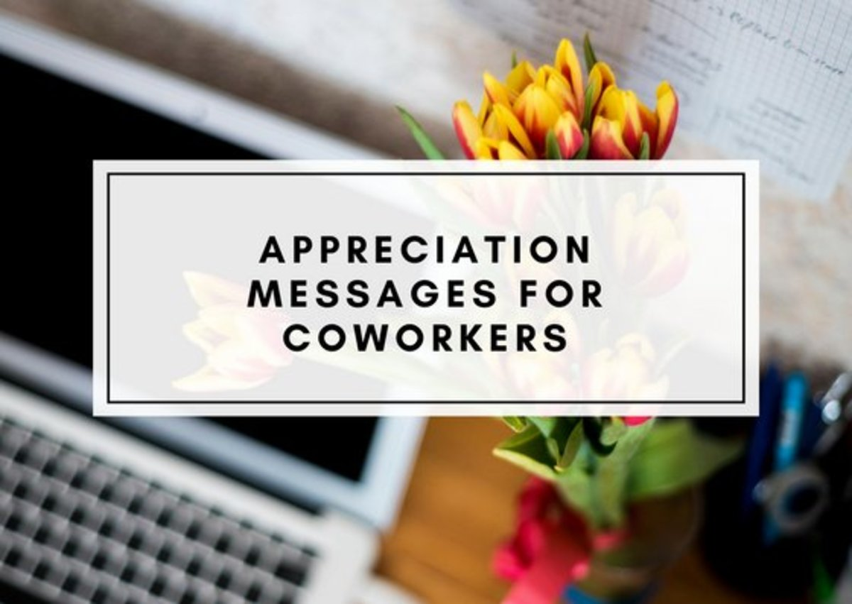 thank you notes and appreciation messages for a colleague