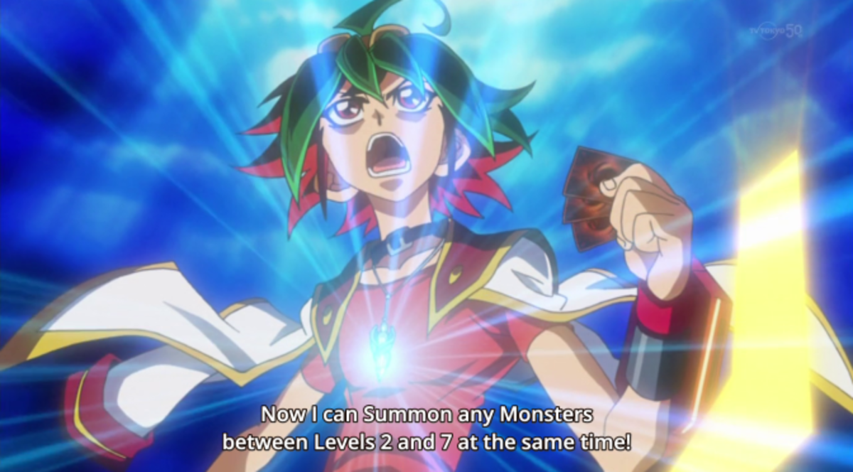 Arc-V protagonist Yuya utilizes Pendulum.