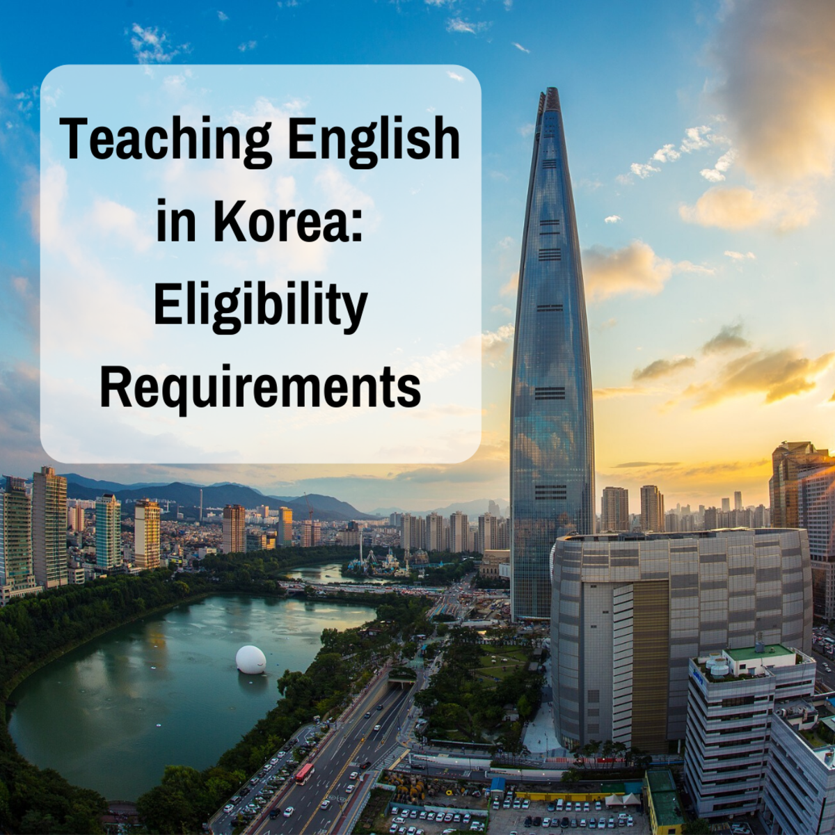 5 Requirements for Teaching English in South Korea