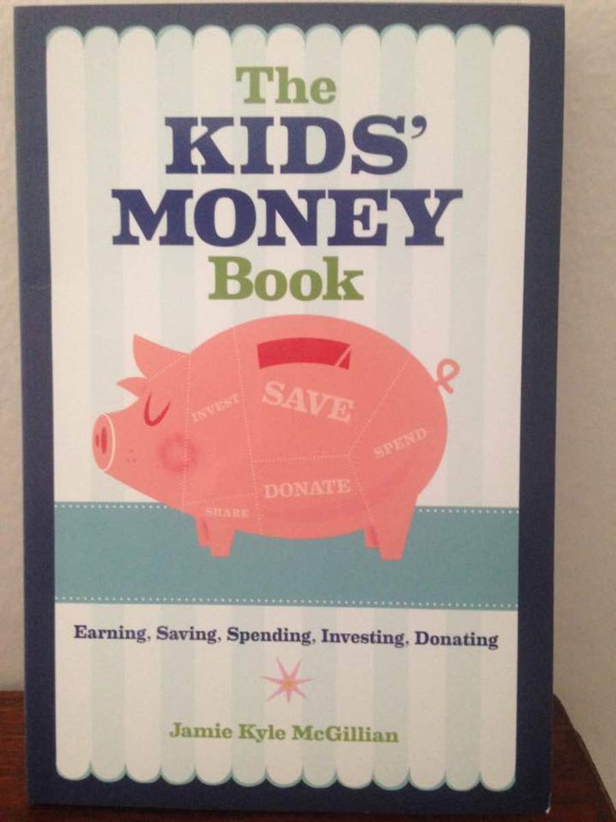 """The Kids' Money Book""—A Great Educational Tool That Teaches that Money is Not Just For Spending"
