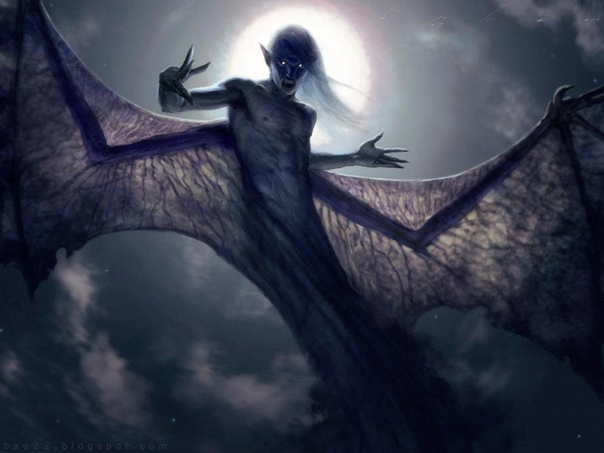An artist's rendition of an aswang.