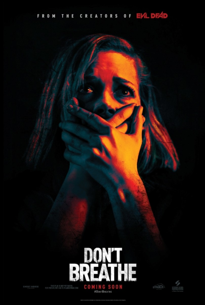 "The official one-sheet theatrical poster for ""Don't Breathe."""