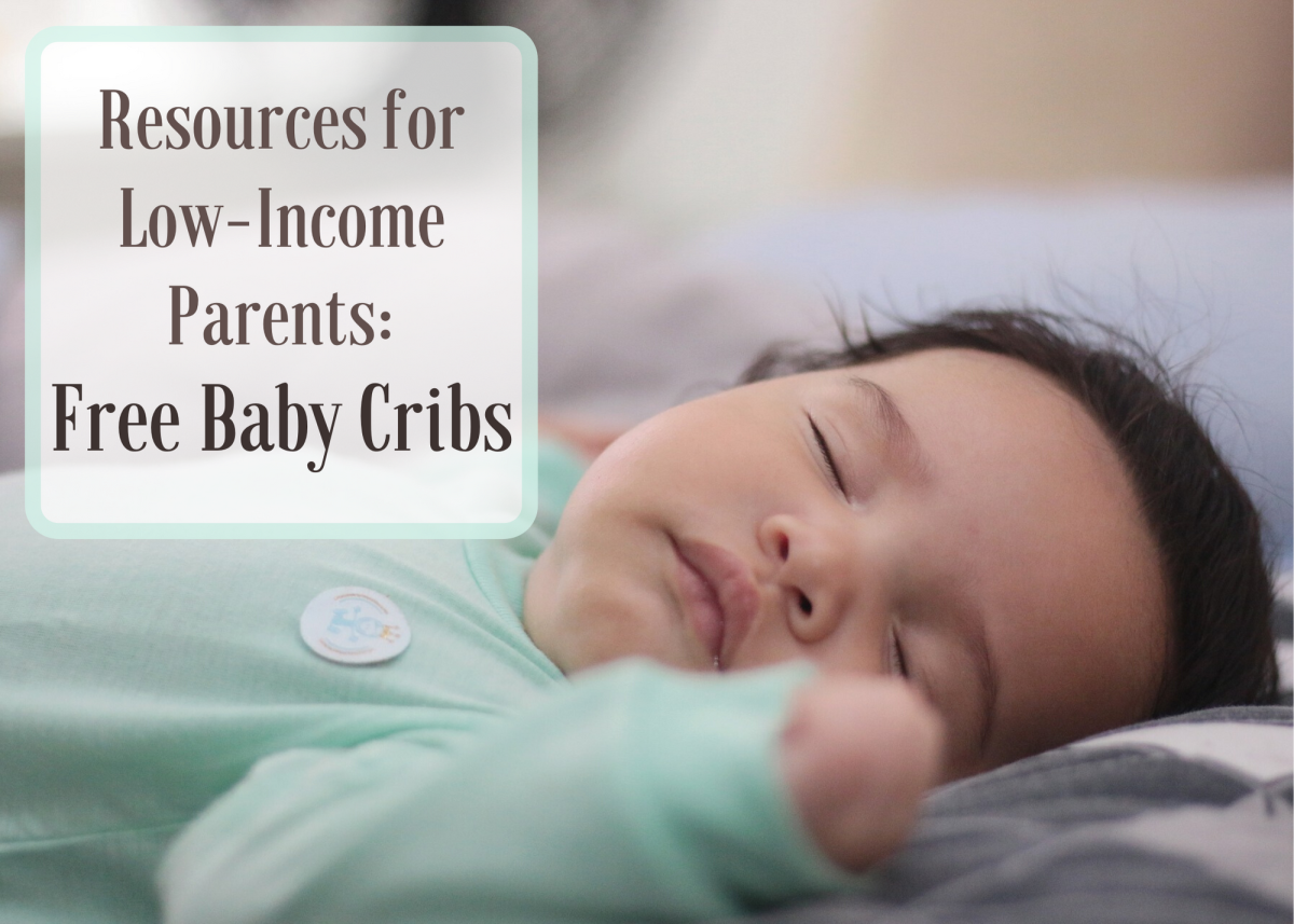 Many non-profits and health agencies across the United States offer free cribs to qualifying low-income parents, often in partnership with Cribs for Kids.