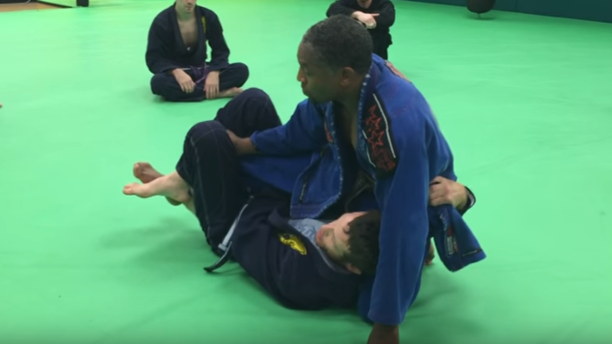 How to Take the Back From Deep Half Guard: A BJJ Tutorial