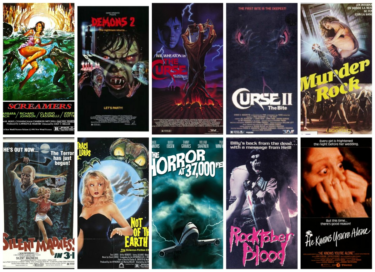 Ten Forgotten Horror Movies You Can Watch on YouTube