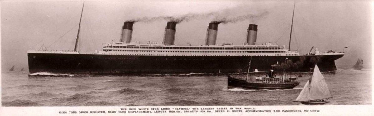 Whatever Happened to Olympic, Titanic's Sister?