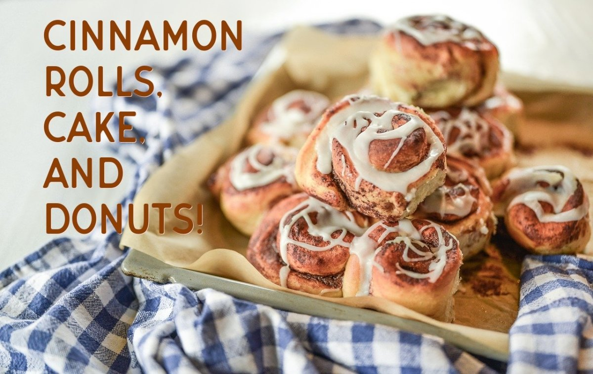 One Recipe That Makes Cinnamon Rolls, Doughnuts, and a Cinnamon Roll Cake